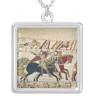 Here the French are fighting Silver Plated Necklace