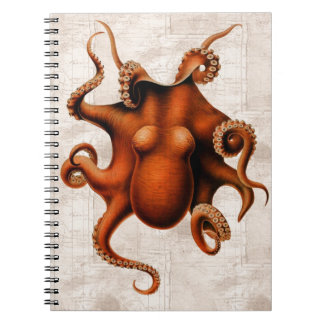 Here There Be Monsters Notebook