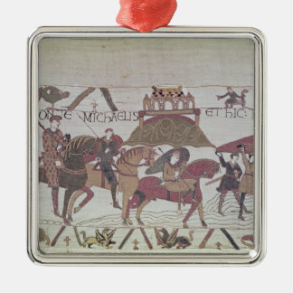Here they cross the River Couesnon Christmas Ornament