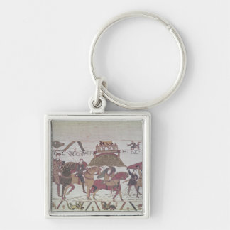 Here they cross the River Couesnon Key Ring
