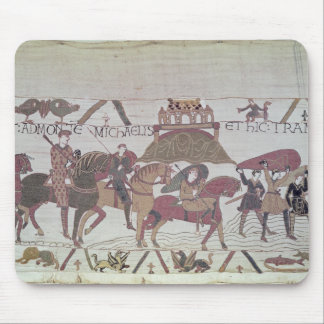 Here they cross the River Couesnon Mouse Mat