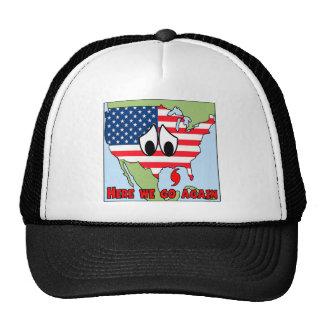 Here we go again mesh hats