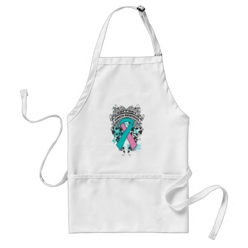 Hereditary Breast Cancer - Cool Support Awareness Apron