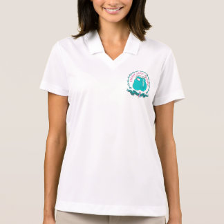 Hereditary Breast Cancer Fight Like A Girl Sporty Polos