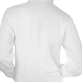 Hereditary Breast Cancer Hope Words Collage Hooded Sweatshirt