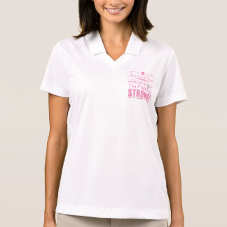 Hereditary Breast Cancer I Am Fighting Strong Polo T-shirt