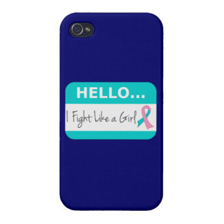 Hereditary Breast Cancer I Fight Like A Girl Covers For iPhone 4