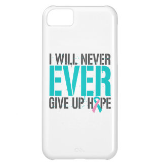 Hereditary Breast Cancer I Will Never Ever Give Up Case For iPhone 5C