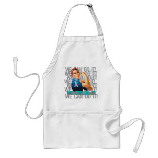 Hereditary Breast Cancer Rosie WE CAN DO IT Aprons