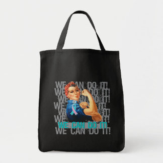 Hereditary Breast Cancer Rosie WE CAN DO IT Tote Bag