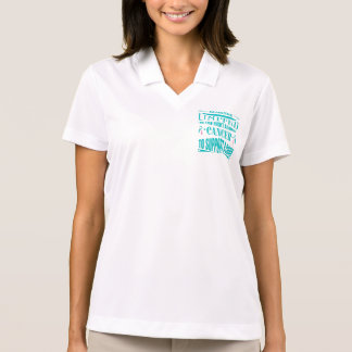 Hereditary Breast Cancer Standing United Polo T-shirt