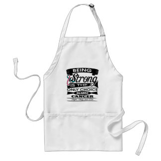 Hereditary Breast Cancer Strong is The Only Choice Aprons