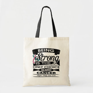Hereditary Breast Cancer Strong is The Only Choice Bags