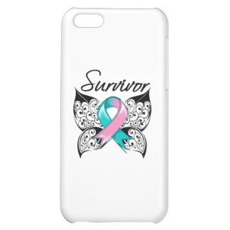 Hereditary Breast Cancer Survivor Butterfly iPhone 5C Cases