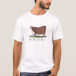 hereford cow, tony fernandes T-Shirt