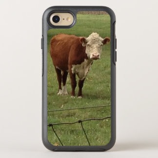 Hereford Honey in Green Pastures OtterBox Symmetry iPhone 8/7 Case