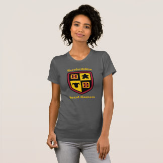 Herefordshire Board Gamers ladies T-shirt