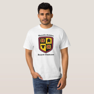 Herefordshire Board Gamers value white t-shirt