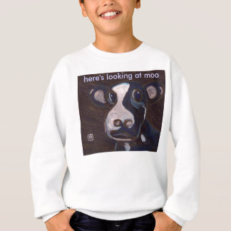 HERE'S LOOKING AT MOO T SHIRT