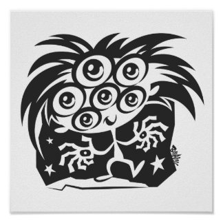 Here's Looking At You! Print