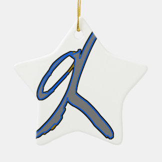 Here's the Next Shift! Ceramic Star Decoration