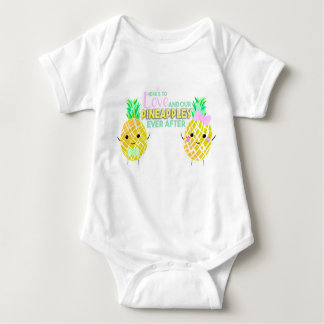 Here's to love and our PINEAPPLEY ever after! Baby Bodysuit
