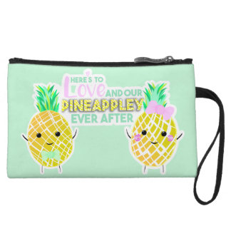 Here's to love and our PINEAPPLEY ever after! Wristlet