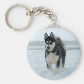 Here's Trouble Key Ring