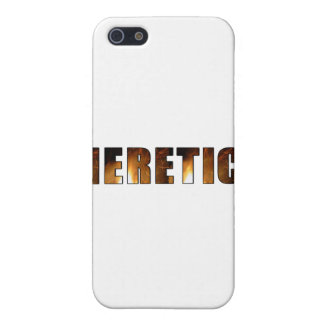Heretic! Cover For iPhone 5
