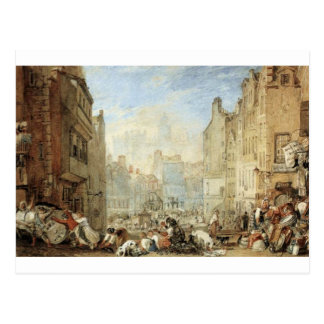 Heriot's Hospital, Edinburgh by William Turner Postcard