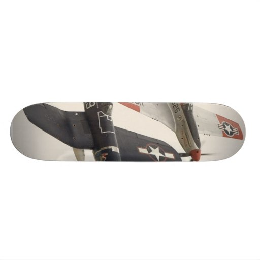 Heritage Flight At Skateboard Deck