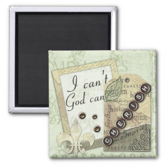 "Heritage ""I Can't God Can"" Magnet"
