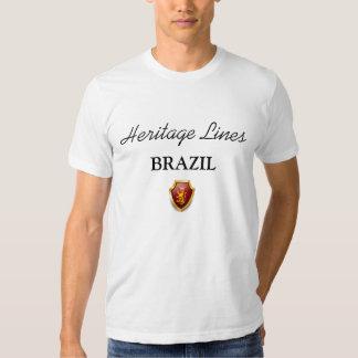 Heritage Lines T-Shirt BRAZIL Sublime