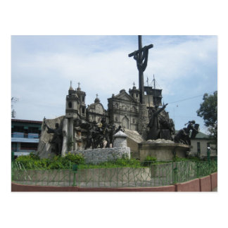 Heritage of Cebu monument Postcard