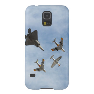 Heritage - P-51 Mustang,F-86-F Saber,F-22A Raptor Galaxy S5 Covers