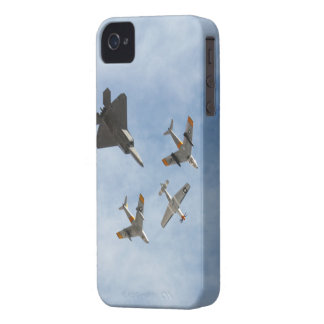 Heritage - P-51 Mustang,F-86-F Saber,F-22A Raptor iPhone 4 Case-Mate Case