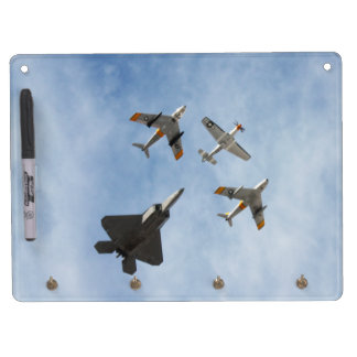 Heritage - P-51 Mustang,F-86-F Saber,F-22A Raptor Dry-Erase Whiteboards