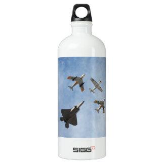 Heritage - P-51 Mustang,F-86-F Saber,F-22A Raptor SIGG Traveller 1.0L Water Bottle