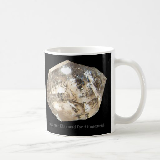Herkimer Diamond for Attunement Mug