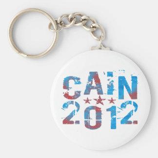 Herman Cain 2012 Basic Round Button Key Ring