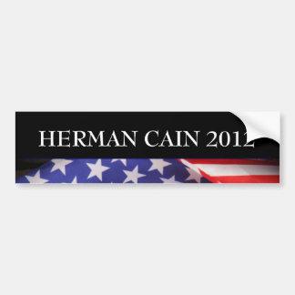 HERMAN CAIN 2012 Bumper Sticker Car Bumper Sticker