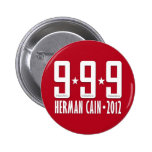 Herman Cain 2012 Buttons