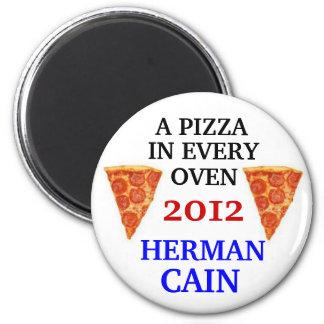 Herman Cain 2012 magnet