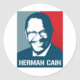 Herman Cain 2012 Poster Sticker
