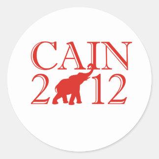 HERMAN CAIN 2012 (Republica Sticker