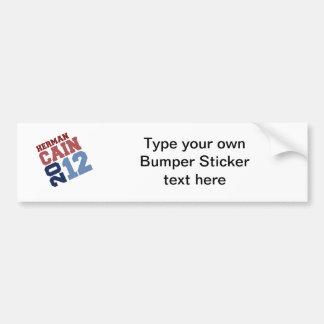 HERMAN CAIN 2012 SWAY BUMPER STICKER