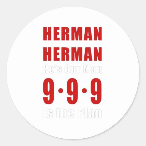 Herman Cain 999 Plan Sticker