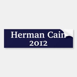 Herman Cain Car Bumper Sticker