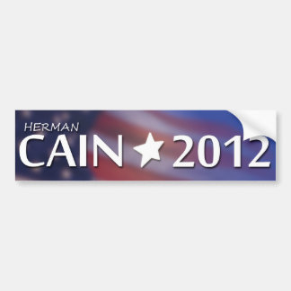 Herman Cain for President 2012 Bumper Sticker