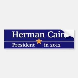 Herman Cain for President Bumper Sticker